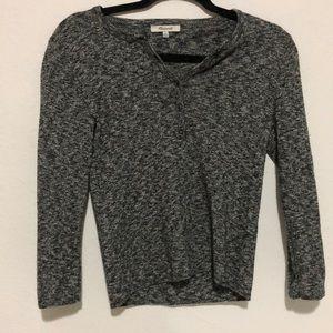 Madewell Tops - Made well 3/4 sleeve sweater